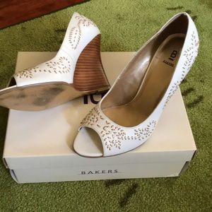 Platform shoes by Bakers
